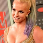 Blonde Britney Spears