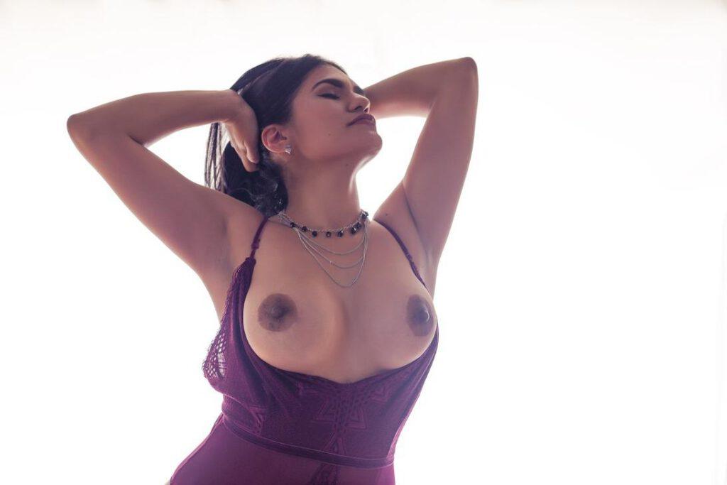 Tijd voor een Topless Spaanse op Maandag