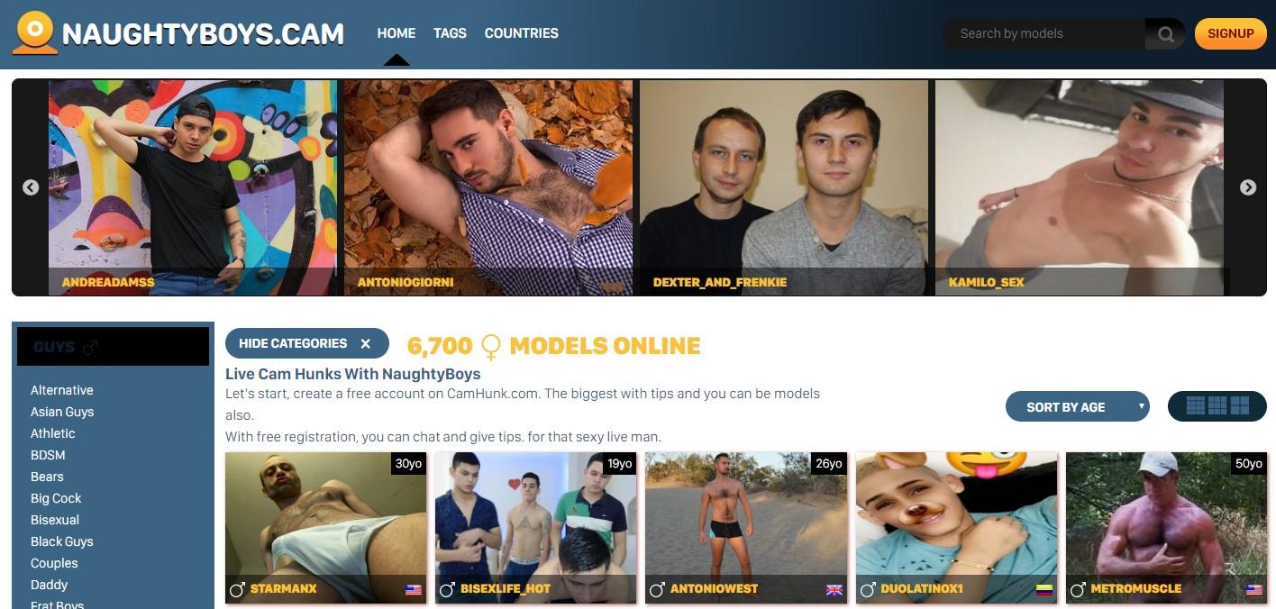 Wordt een webcam boy!